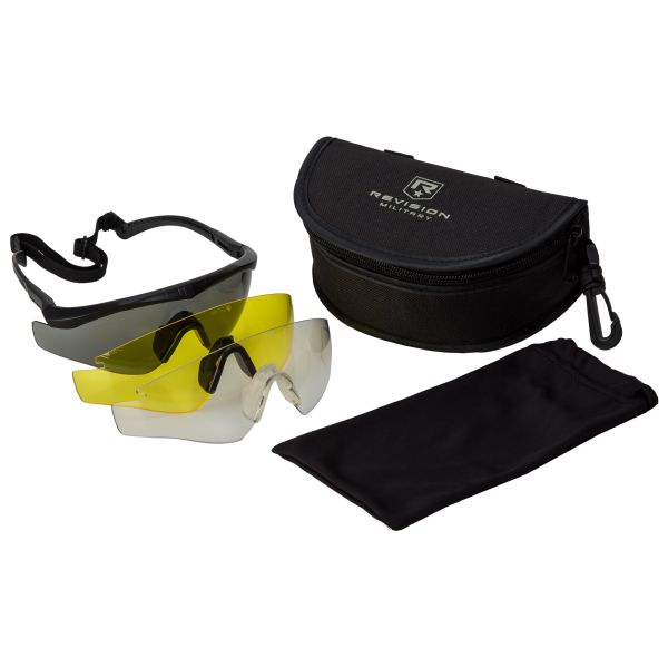 Gafas Revision Sawfly MAX-Wrap Mission Kit regular negras