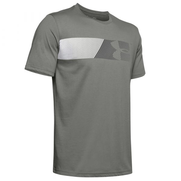 Camiseta Under Armour Fast Left Chest 2.0 SS gravity green