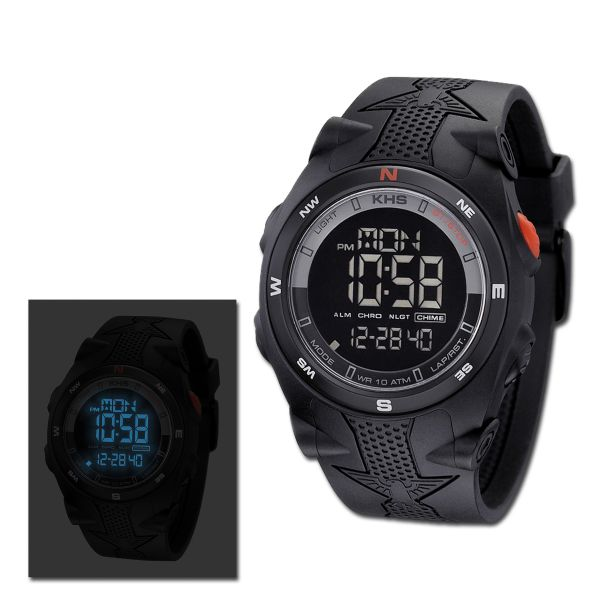 Reloj KHS Sentinel DC negro