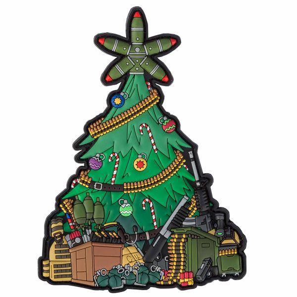 TacOpsGear 3D Parche PVC Taktischer Weihnachtsbaum