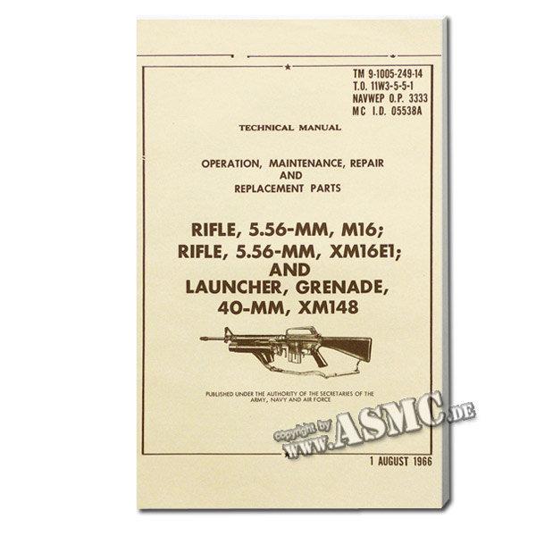Libro Rifle 5.56 mm