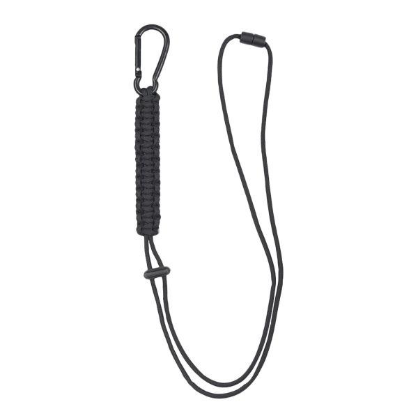 Cuerda Paracord Lanyard negra