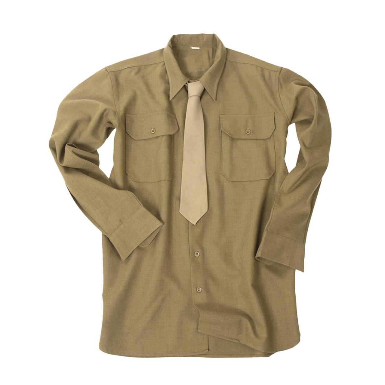 Camisa de campo US M37 marr