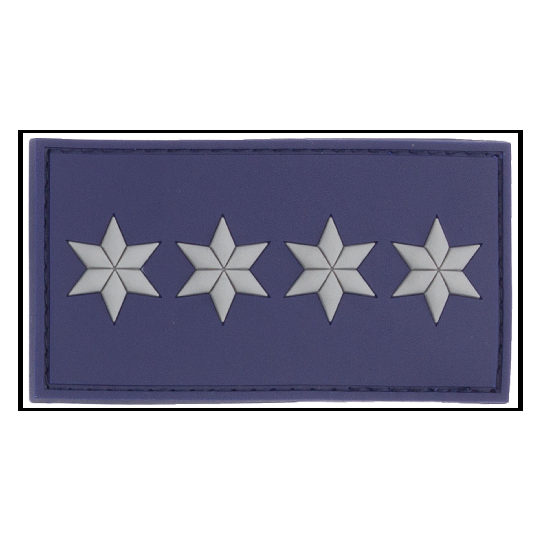 Parche -3D Ins. de rango Polizeihauptkommissar A12 azul policía