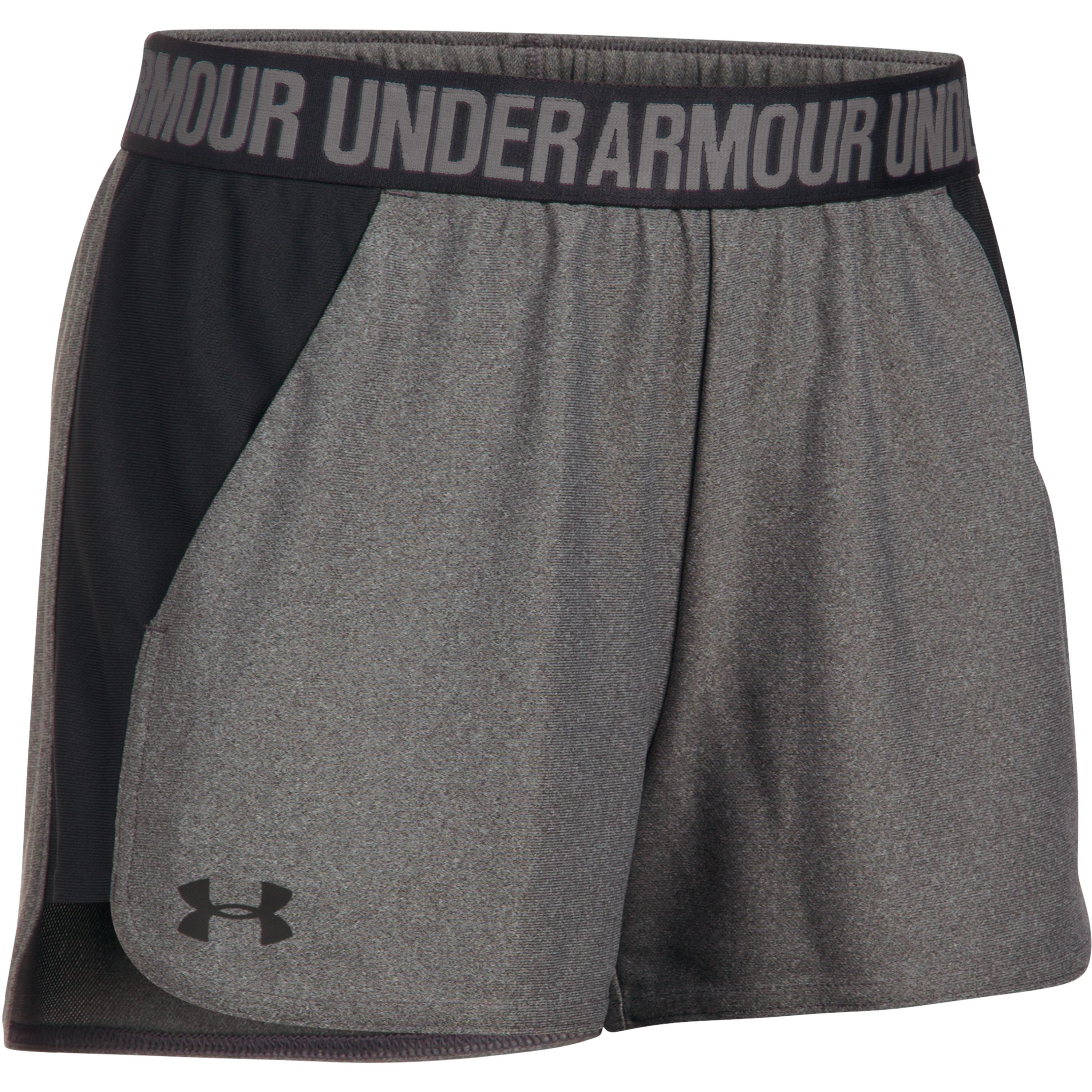 Short Under Armour Women Play Up 2.0 gris oscuro