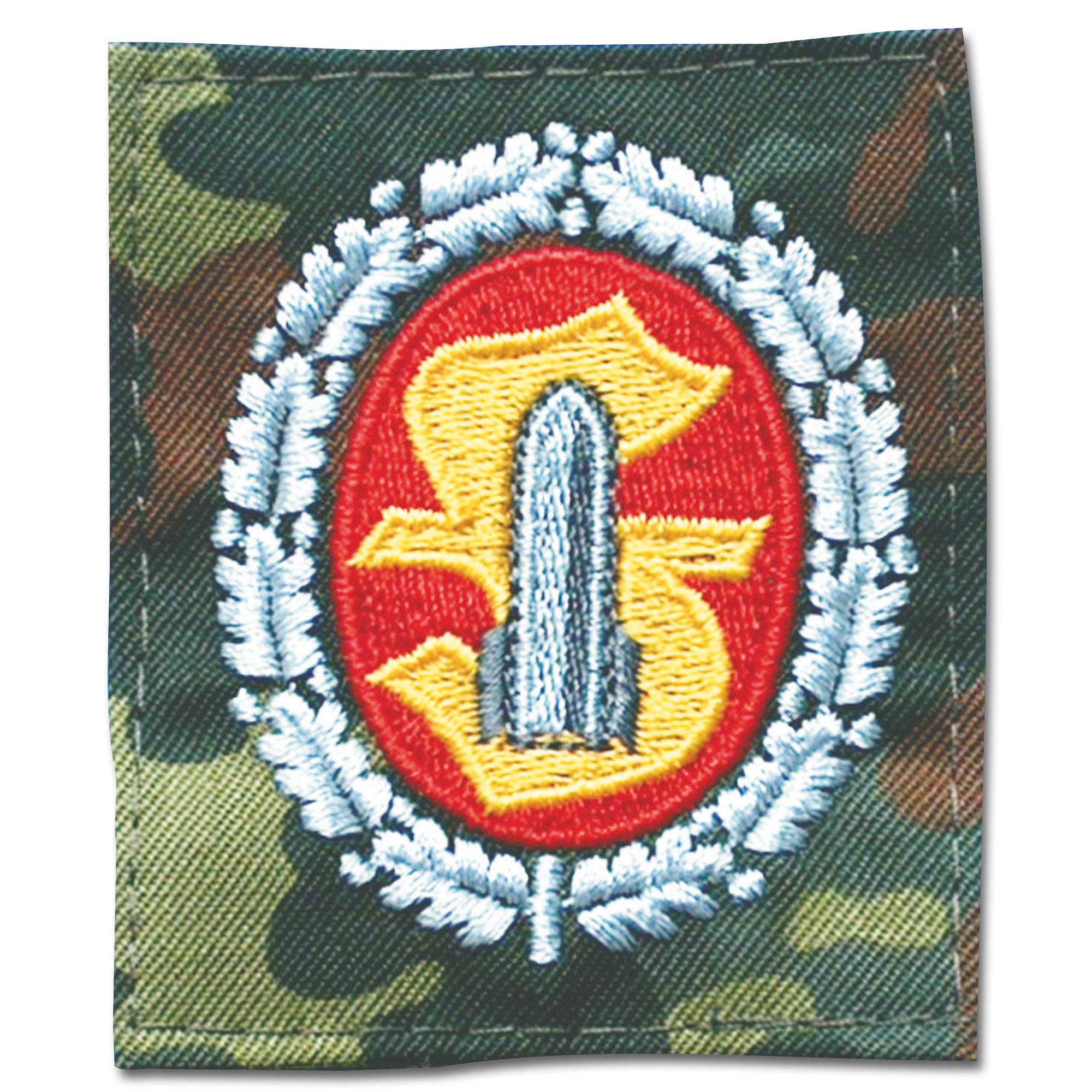 Distintivo BW Mun-Personal flecktarn/ a colores