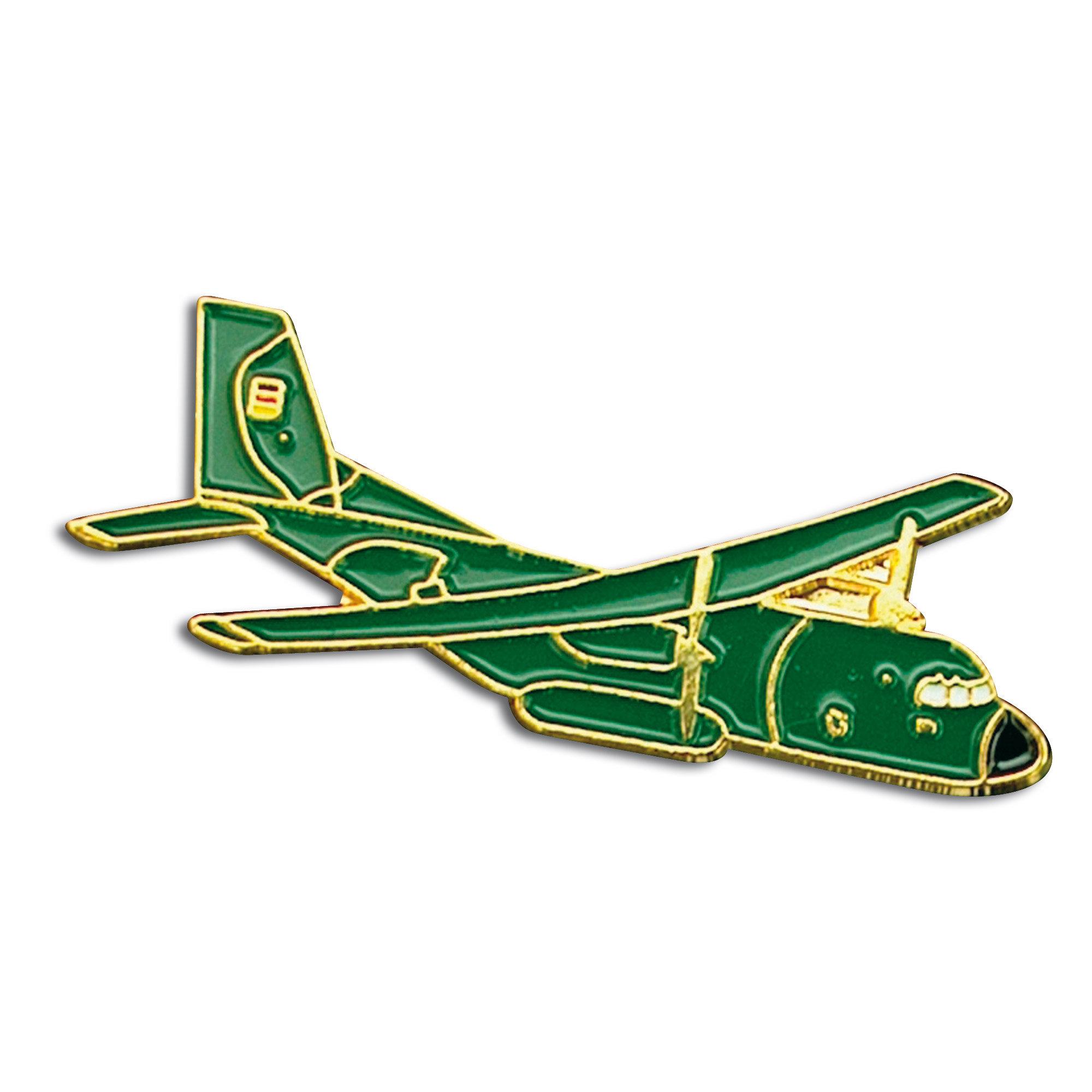 Mini - Pin metálico Transall verde