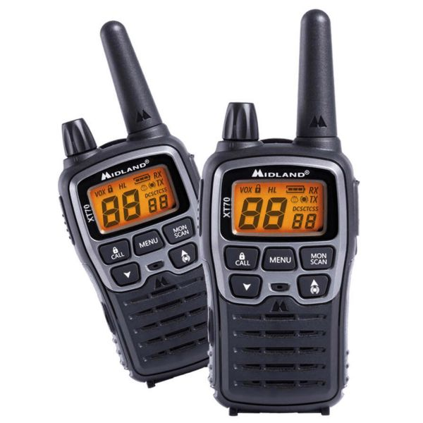 Radio Midland XT70 Paar PMR+LPD Blisterpack