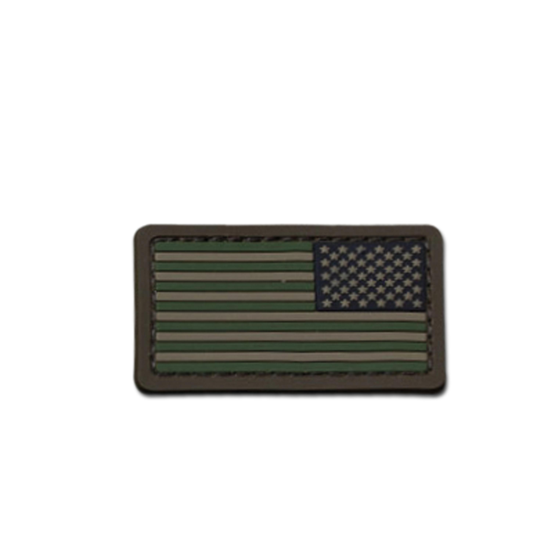 Parche MilSpecMonkey Mini bandea US Flag REV PVC forest