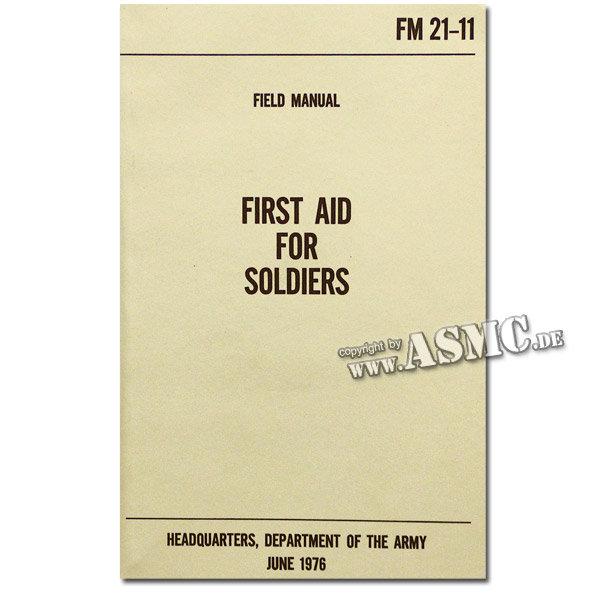 Libro First Aid for Soldiers