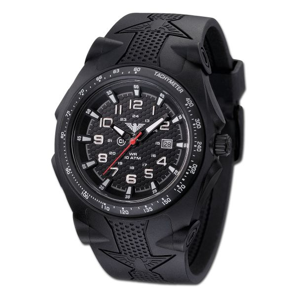 Reloj KHS Sentinel Analog negro