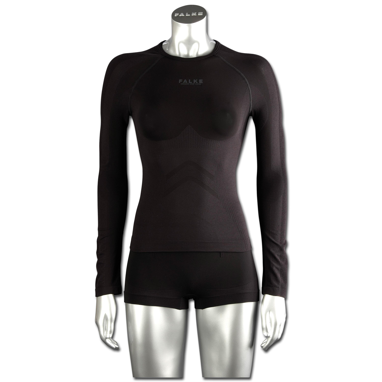 Falke Women camiseta mangas largas Running negra