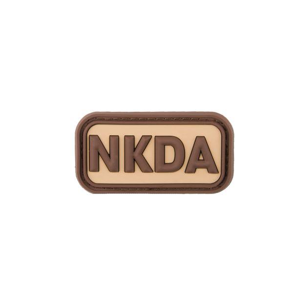 Parche 3D NKDA - No Known Drug Allergies desierto