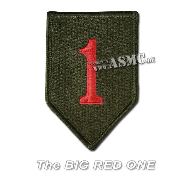 Insignia textil US 1st. Division