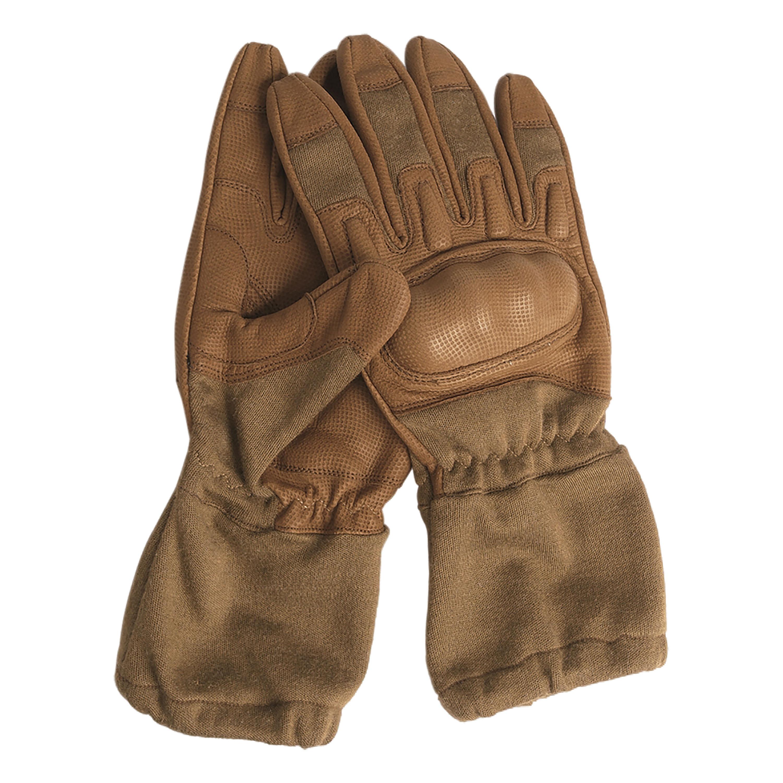 Guantes Action Gloves retardante de flama con puños coyote