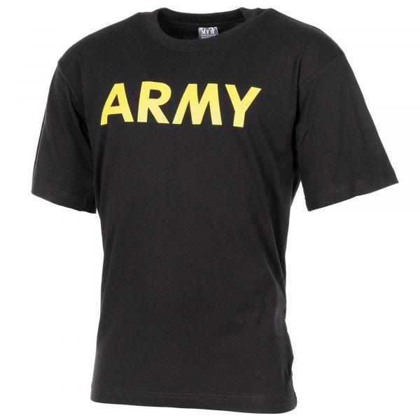 Mil-Tec Camiseta Army negra