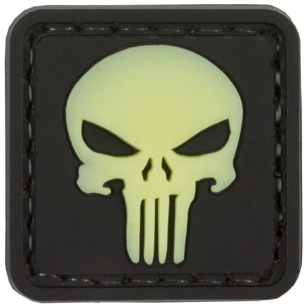 Parche - 3D TAP Punisher Skull fosforescente