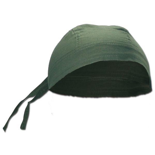 Bandana headwrap verde oliva