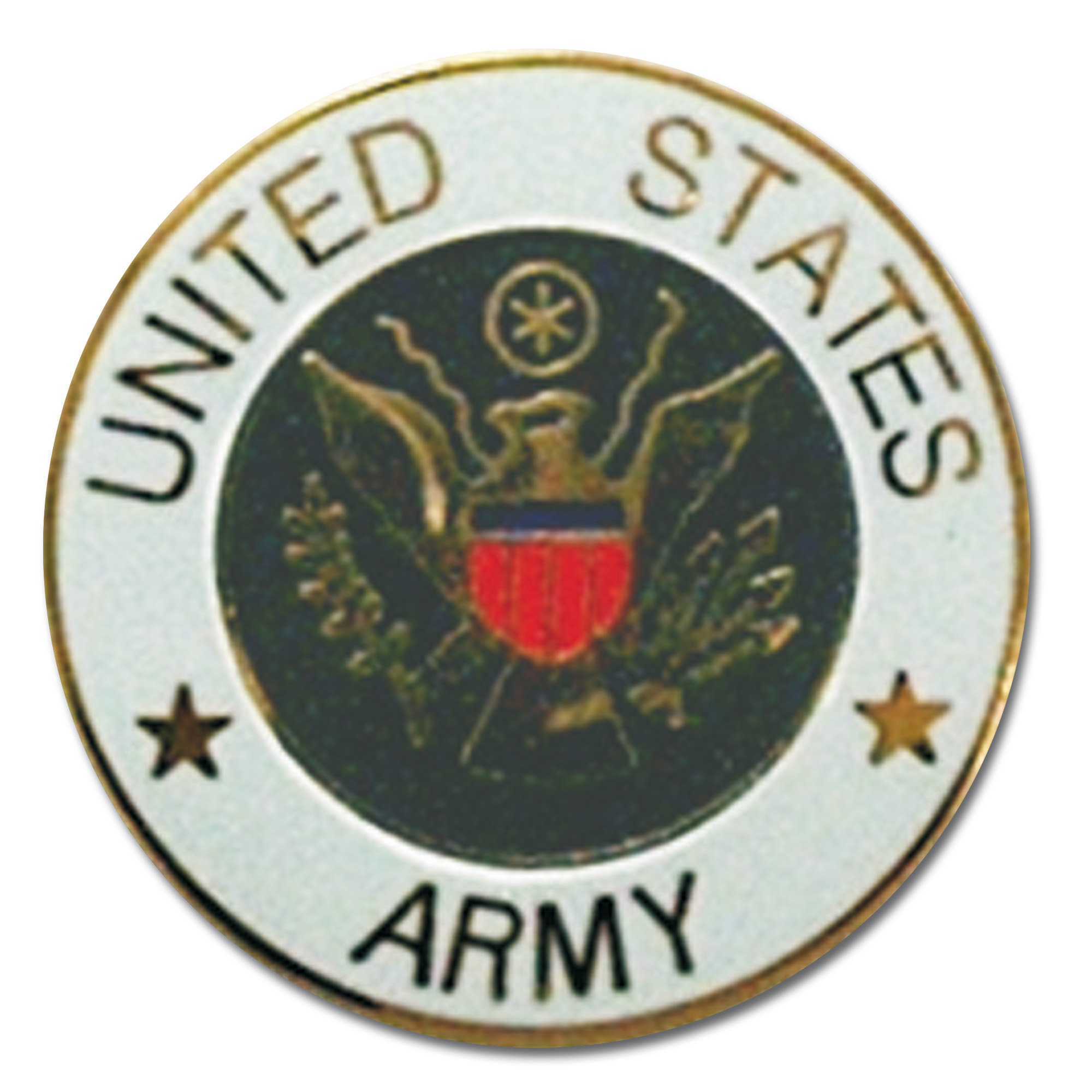 Pin Mini US Army redondo