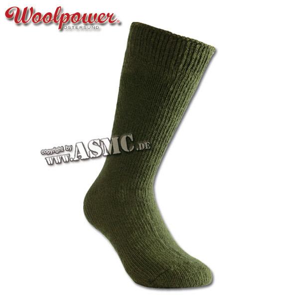 Calcetines Woolpower Arctic verde oliva