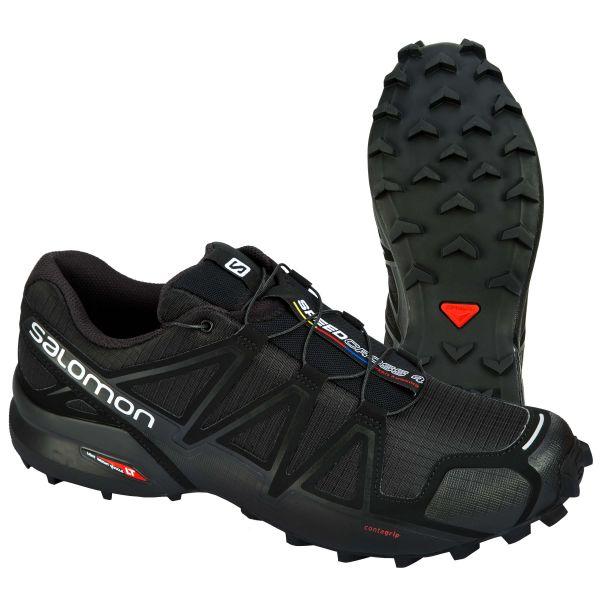 Calzado Salomon Speedcross 4 negro metalizado