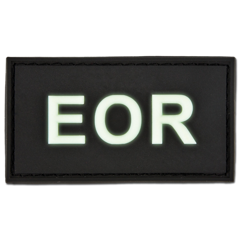 Parche 3D EOR - Explosive Ordnance Reconaissance fosforescente