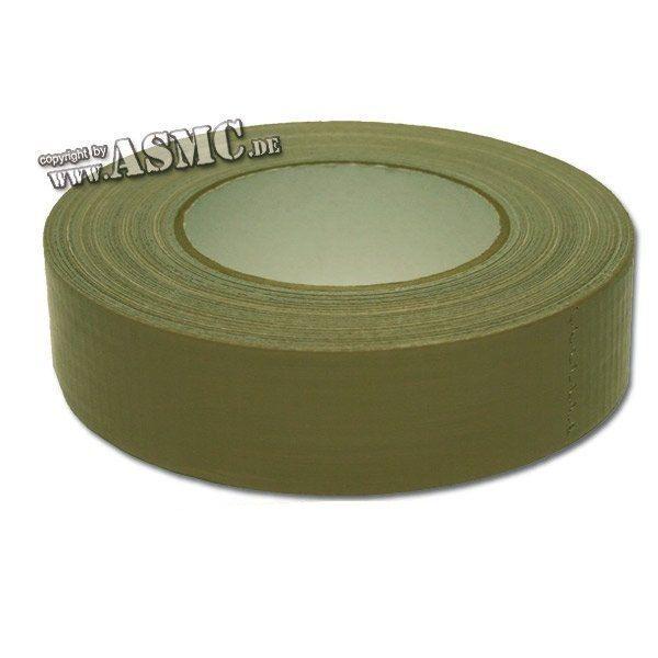 Cinta adhesiva verde oliva 50 mm de ancho