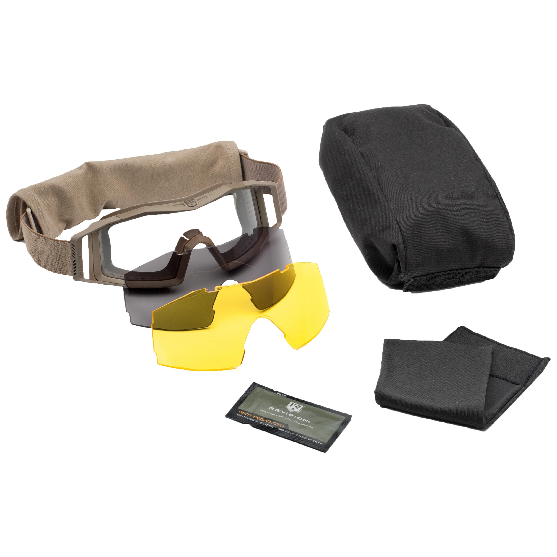 Gafas Revision Wolfspider Deluxe lentes tan amarillo