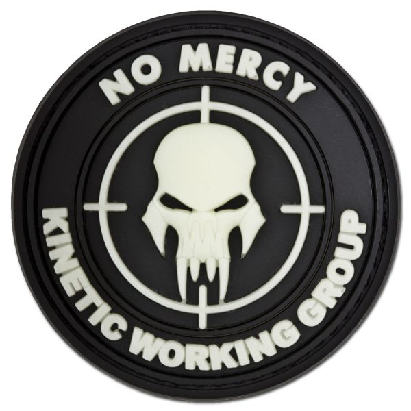 Insignia 3D NO MERCY - KINETIC WORKING GROUP fosforescente