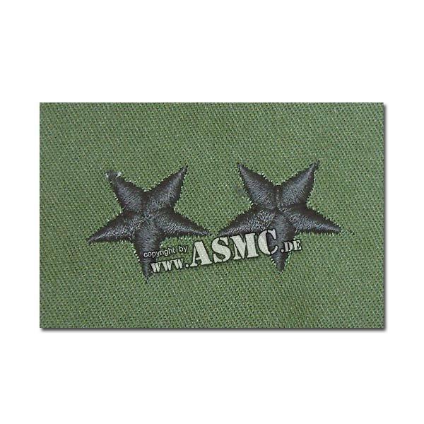 Distintivo de rango US Textil Major General verde oliva