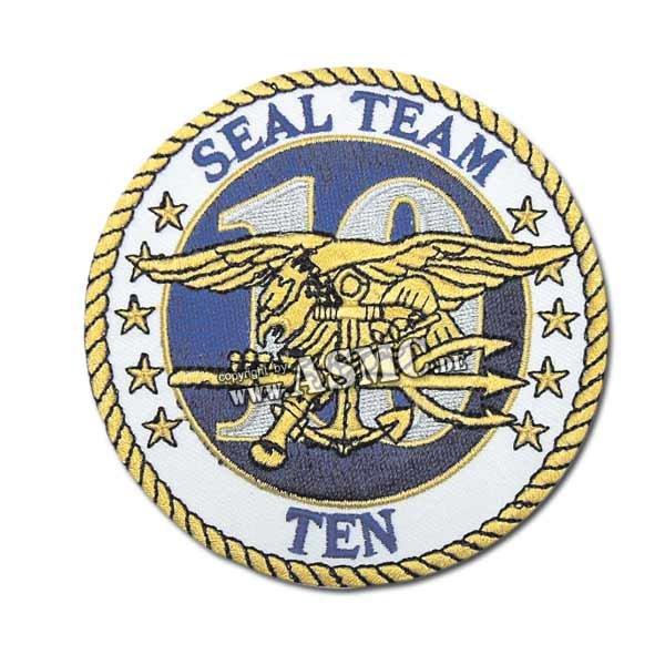 Distintivo textil US Seal Team Ten