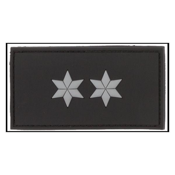 Parche -3D Insignia de rango Polizeioberkommissar negra