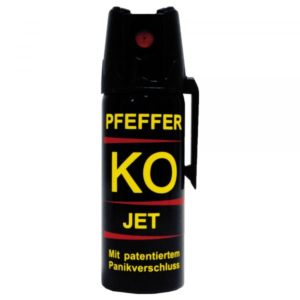 Spray de pimienta KO Jet chorro de pulverización 50 ml