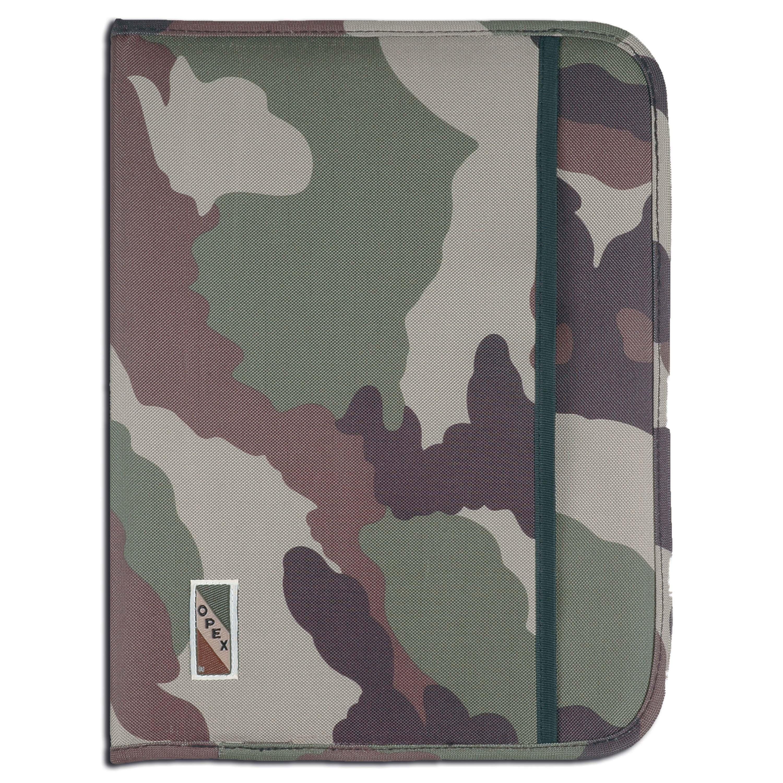 Carpeta portadocumentos OPEX A4 camuflaje CCE