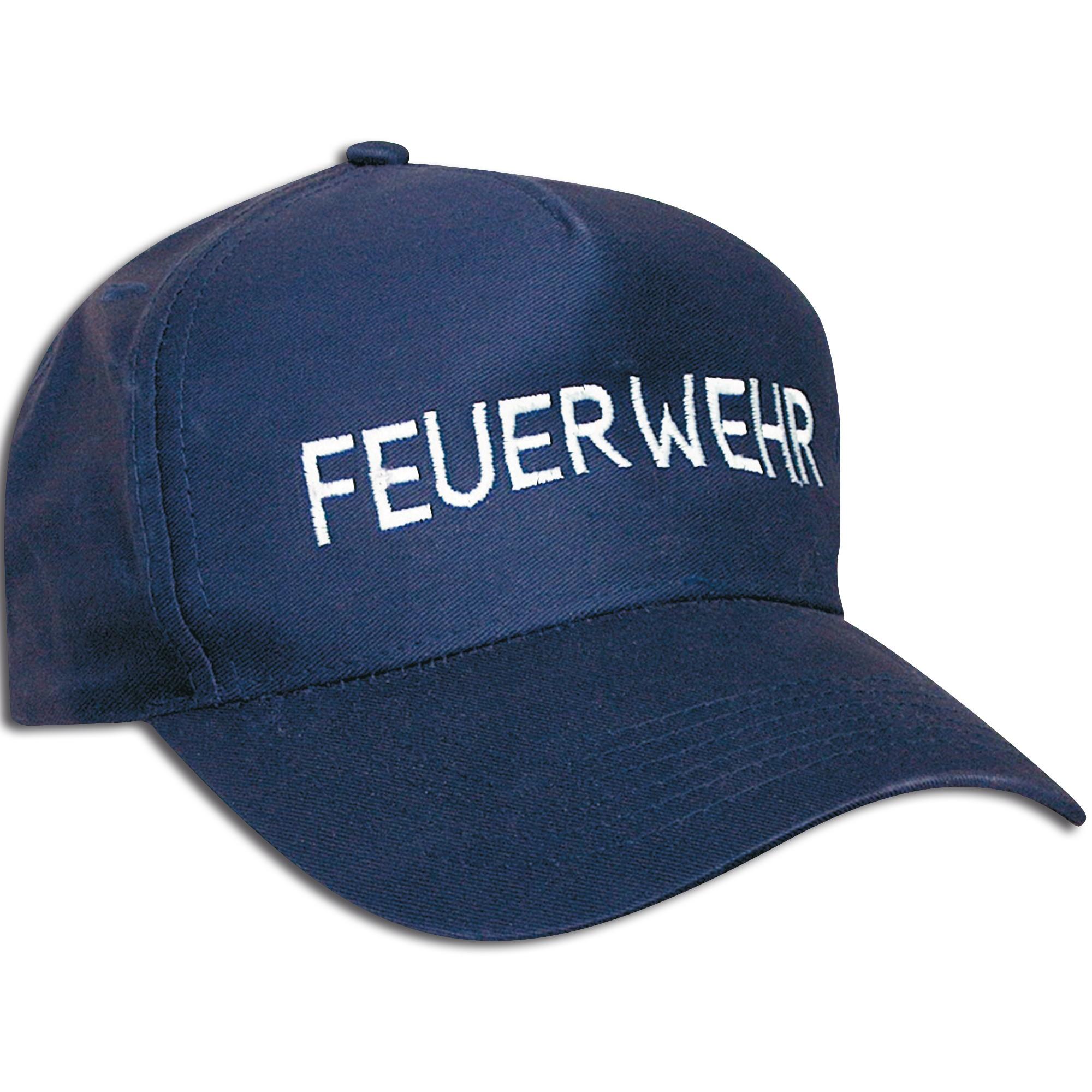 Gorra de béisbol inscripción Feuerwehr (bomberos)