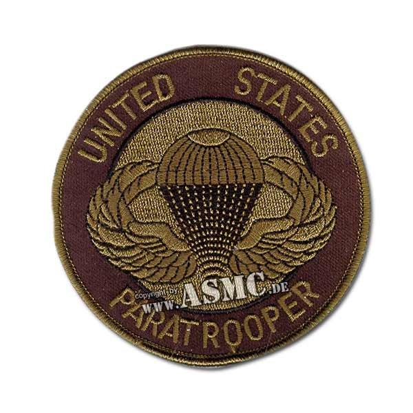 Distintivo Springer Textil US Paratrooper verde oliva