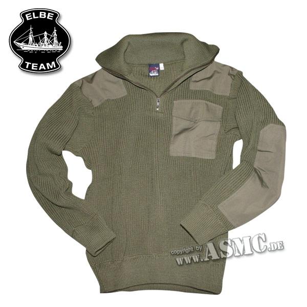 Suéter Troyer Commando verde oliva