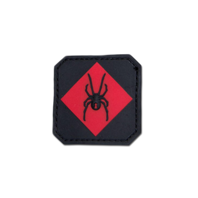 Parche MilSpecMonkey RedBackOne Logo PVC rojo