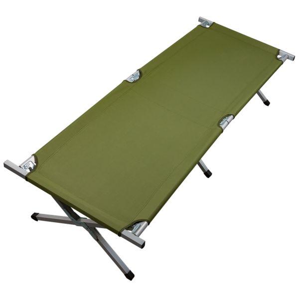 Cama de campaña Sleepwell verde oliva