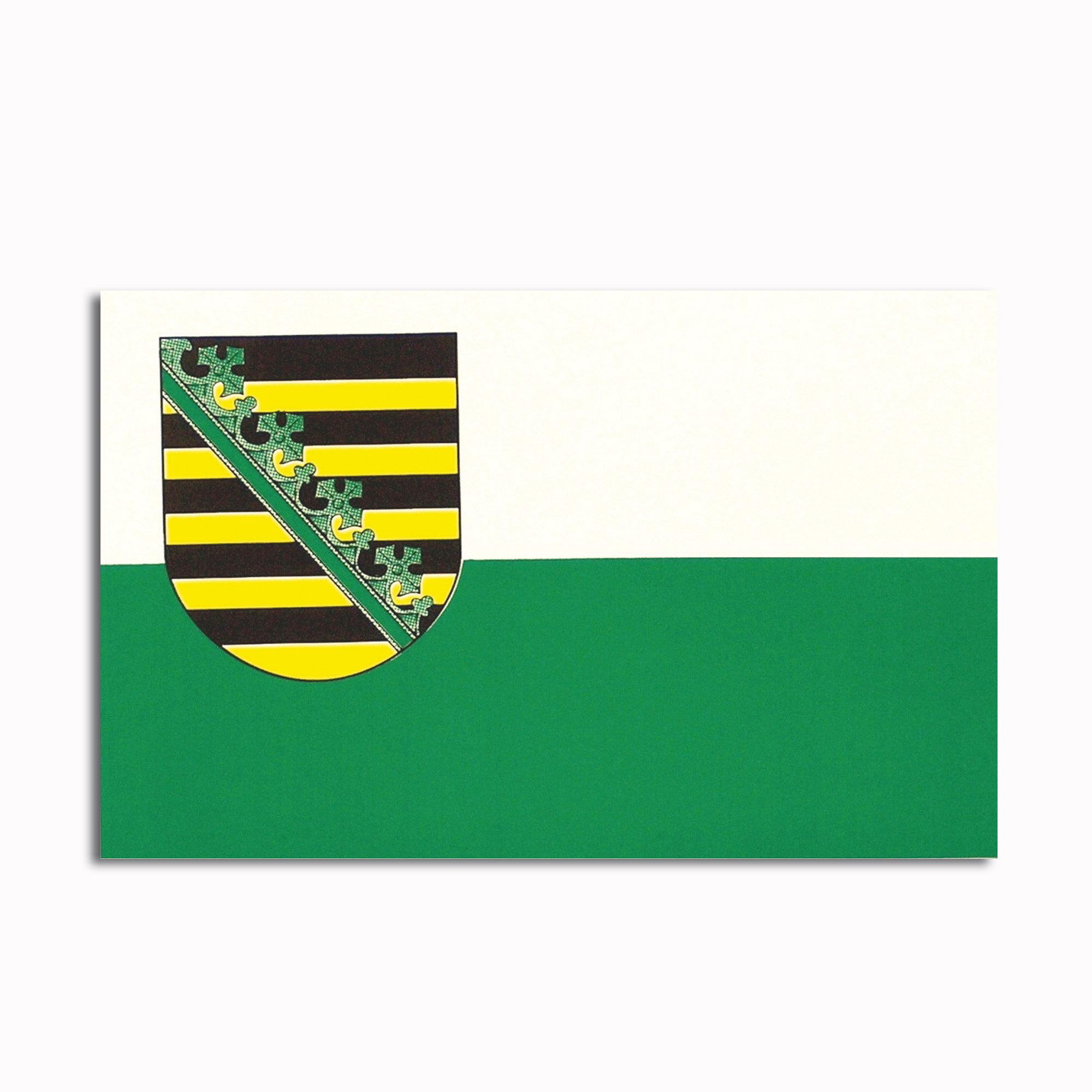 Calcomanía Sachsen - Sajonia