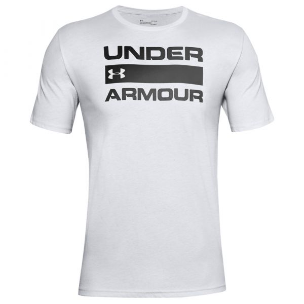 Camiseta Under Armour Team Issue Wordmark SS halo gray